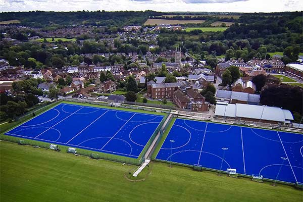 Hockey and Rugby Pitches
